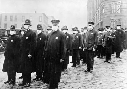 police during epidemic