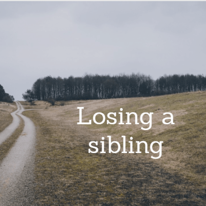 losing a sibling