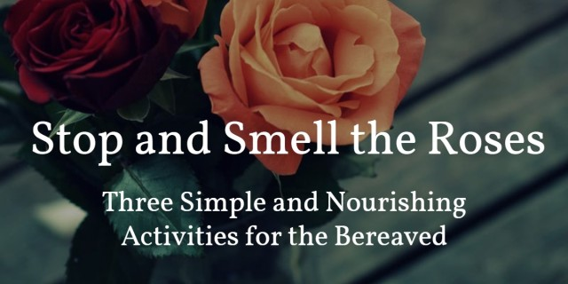 Stop to Smell the Roses - blog